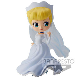 DISNEY FIGURINE Q POSKET CINDERELLA DREAMY STYLE NORMAL COLOR VER.