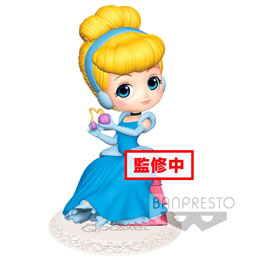 DISNEY FIGURINE Q POSKET PERFUMAGIC CINDERELLA NORMAL COLOR VER. 12 CM