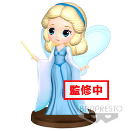 DISNEY FIGURINE Q POSKET BLUE FAIRY 7 CM