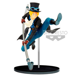 ONE PIECE STATUETTE PVC BWFC SABO NORMAL COLOR VER. 20 CM