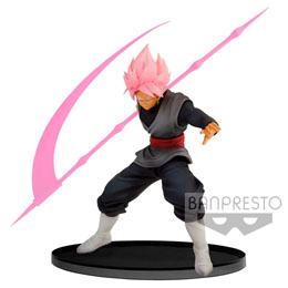 DRAGON BALL SUPER STATUETTE PVC BWFC SUPER SAIYAN ROSE GOKU BLACK VER. A 14 CM