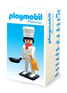 Photo du produit PLAYMOBIL FIGURINE VINTAGE COLLECTION CUISINIER 21 CM Photo 1