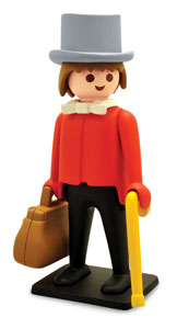 PLAYMOBIL FIGURINE VINTAGE COLLECTION BANQUIER 21 CM