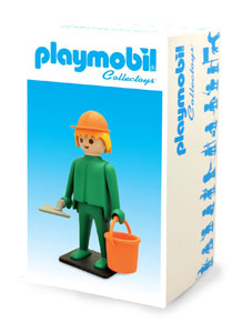 Photo du produit PLAYMOBIL FIGURINE VINTAGE COLLECTION OUVRIER MAÇON Photo 1