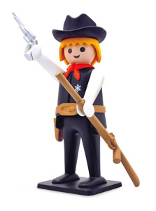 PLAYMOBIL FIGURINE VINTAGE COLLECTION SHERIFF 21 CM