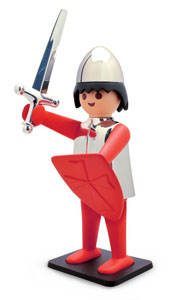 PLAYMOBIL FIGURINE VINTAGE COLLECTION CHEVALIER 21 CM