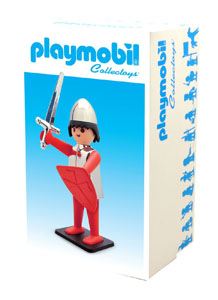 Photo du produit PLAYMOBIL FIGURINE VINTAGE COLLECTION CHEVALIER 21 CM Photo 1