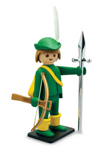 PLAYMOBIL FIGURINE VINTAGE COLLECTION ARCHER 21 CM