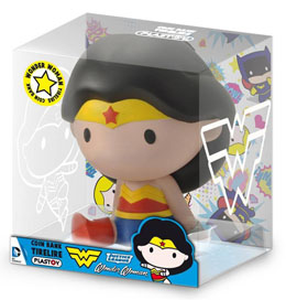 TIRELIRE JUSTICE LEAGUE CHIBI WONDER WOMAN 17 CM