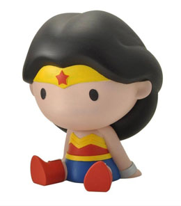 Photo du produit TIRELIRE JUSTICE LEAGUE CHIBI WONDER WOMAN 17 CM Photo 1