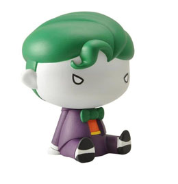 JUSTICE LEAGUE TIRELIRE CHIBI THE JOKER 17 CM
