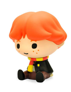 HARRY POTTER TIRELIRE CHIBI PVC RON WEASLEY 15 CM