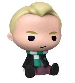 HARRY POTTER TIRELIRE CHIBI PVC DRACO MALFOY 16 CM