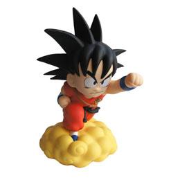 Dragon Ball tirelire Chibi PVC Son Goku sur le Nuage Magique 22 cm