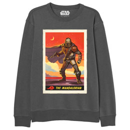 DISNEY SWEAT THE MANDALORIAN STAR WARS ADULTE