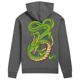 TOEI ANIMATION SWEAT À CAPUCHE SHENRON DRAGON BALL Z ADULTE