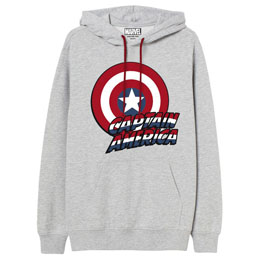 SWEAT À CAPUCHE CAPTAIN AMERICA MARVEL ADULTE