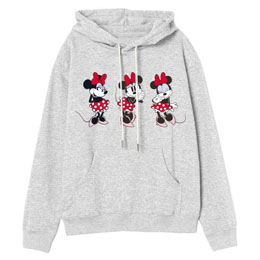 SWEAT À CAPUCHE DISNEY MINNIE ADULTE