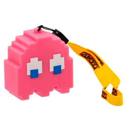LAMPE LED 3D FANTOME ROSE PAC-MAN