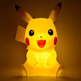 Photo du produit LAMPE LED 3D PIKACHU POKEMON Photo 1