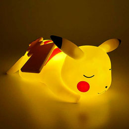LAMPE LED 3D PIKACHU ENDORMI POKEMON