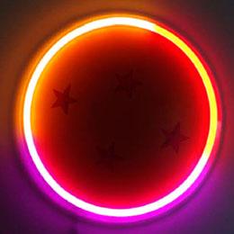 LAMPE MURALE NEON DRAGON BALL BOULE DE CRISTAL