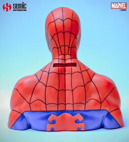 Photo du produit MARVEL COMICS BUSTE / TIRELIRE SPIDER-MAN 17 CM Photo 2
