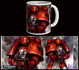 MUG BLOOD ANGELS SPACE MARINES WARHAMMER 40K