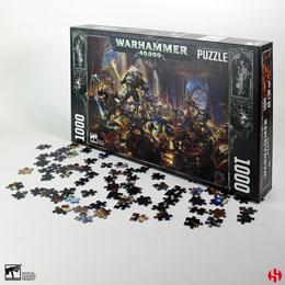 WARHAMMER 40K PUZZLE GULLIMAN VS BLACK LEGION (1000 PIÈCES)