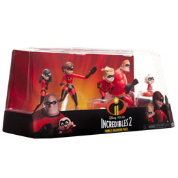 COFFRET 5 FIGURINES DISNEY LES INDESTRUCTIBLES 2