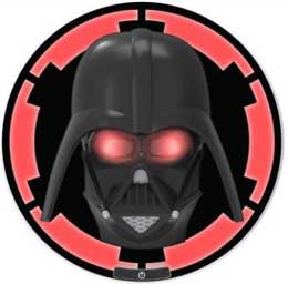 STAR WARS LAMPE 3D LED DARTH VADER 25 CM