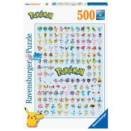 PUZZLE POKEMON 500 PIECES