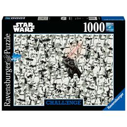 PUZZLE CHALLENGE STAR WARS 1000 PIÈCES