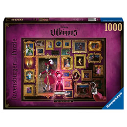 PETER PAN PUZZLE CAPITAINE CROCHET DISNEY VILLAINS 1000 PIECES