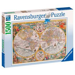 PUZZLE MAP MONDE HISTORIQUE 1000 PIECES