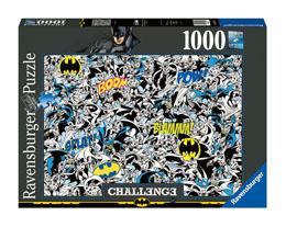 DC COMICS CHALLENGE PUZZLE BATMAN (1000 PIÈCES)