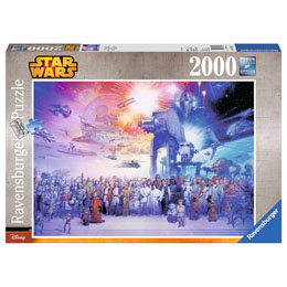 PUZZLE L'UNIVERS STAR WARS 2000 PIECES