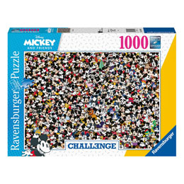 DISNEY CHALLENGE PUZZLE MICKEY MOUSE (1000 PIÈCES)