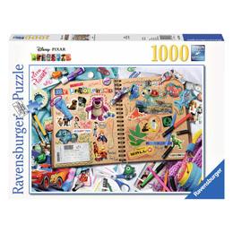 PUZZLE PIXAR SCRAPBOOK 1000 PIÈCES