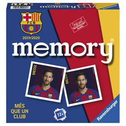 JEU MEMORY FC BARCELONE