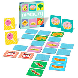 Photo du produit JEU MEMORY FUNNY FOOD Photo 1