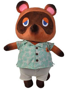 ANIMAL CROSSING PELUCHE TOM NOOK 40 CM
