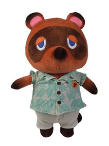 ANIMAL CROSSING PELUCHE TOM NOOK 25 CM