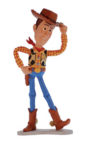 FIGURINE DISNEY TOY STORY WOODY - BULLYLAND