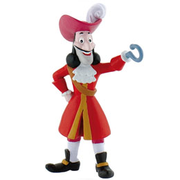 PETER PAN FIGURINE CAPITAINE CROCHET