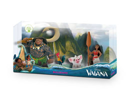 PACK 4 FIGURINES VAIANA DE 4 A 12 CM