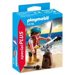 PLAYMOBIL 5378 CANONNIER DES PIRATES