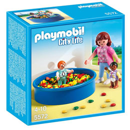 PLAYMOBIL CITY LIFE LA PISCINE A BULLES N°5572