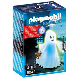 Photo du produit PLAYMOBIL 6042 FANTOME AVEC LED MULTICOLORE