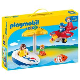 PLAYMOBIL 1.2.3  6050 - PLAISIR DE VACANCES